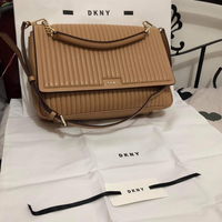 Used DKNY lamb skin leather bag in Dubai, UAE