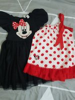 Used Girls Minnie Mouse Dress & Shirt(4-5yrs) in Dubai, UAE