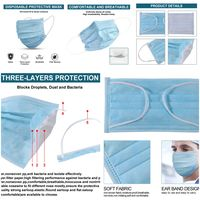 Used Disposable mask 10 pcs in Dubai, UAE