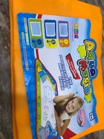 Used aqua magic mat for drawing  in Dubai, UAE