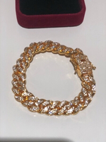 Used Cuban chain bracelet rose gold  in Dubai, UAE