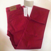 Pants 👖 Lacoste red/w30-L34
