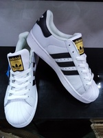 Used Adidas black and white stripes 36 to 45 in Dubai, UAE