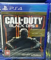 Ps4 game-BLACK OPS 111GOLD (ed)