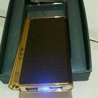 Used Professional Powerbank Leather Case Brown # 12,000 Mah # Box Pack  in Dubai, UAE