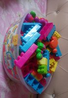 Bucket full of blocks for your kids