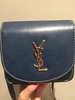 Used YSL blue leather crossbody  in Dubai, UAE