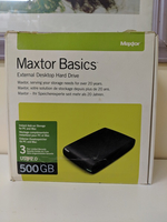 Used Maxtor external desk hard disk 500 gb in Dubai, UAE