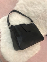 Used Black croc handbag  in Dubai, UAE