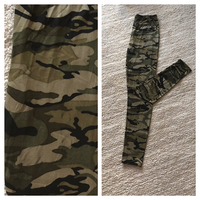Fashion camouflage leggings