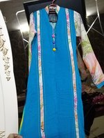 Brand new kurti with floral print pajama