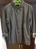 Used Shirt-ONE90ONE -Black in Dubai, UAE