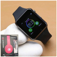 Used A1 Touch Screen SmartWatch▪FREE Headphon in Dubai, UAE