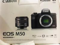 Used Canon eos m50 4k full box and warranty in Dubai, UAE