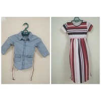 Used Baby girl dresses 2 pcs in Dubai, UAE