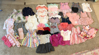 Used Baby girl clothing 3months to 12months in Dubai, UAE
