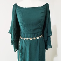 Used NEW Zalia Evening Dress with Belt in Dubai, UAE