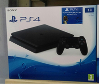 PS4 1TB console brand new sealed