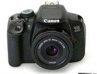 CANON CAMERA 650D WITH 75-300mm With Samsonite Camera Kit