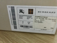 Used Limited Edition Burberry Sneakers Men 7 in Dubai, UAE