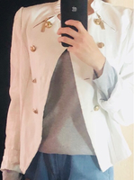 White leather jacket 100 ead Only!!!