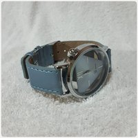 Used New watch blue geneve watch for lady. in Dubai, UAE