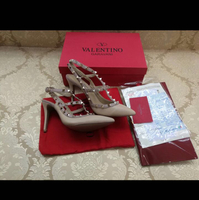 Used Brand New Valentino Rockstud Shoes Comes With Box, Dust Bag, Paper Bag, Receipt in Dubai, UAE