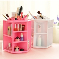 Used New upgrade 360° storage box white&pink in Dubai, UAE