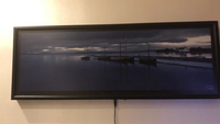 Used Wall frame with lights 1m*35cm in Dubai, UAE