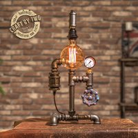 Used STEAMPUNK TOUCH ACTIVATED DESK LAMP in Dubai, UAE