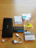 Used Veger power bank super slim 12000mah in Dubai, UAE