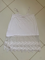 Used Top with lace  in Dubai, UAE