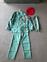 Military costume unisex size 7-8 years