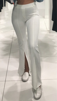 Used White flare pants in Dubai, UAE