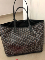 Used Goyard Anjou MM tote bag black in Dubai, UAE
