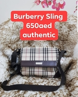 Used Authentic Burberry sling bag in Dubai, UAE