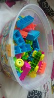 Bucket of blocks