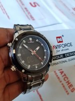 Used 》NAVIFORCE Steel Watch ~ ✔Original ✔New in Dubai, UAE