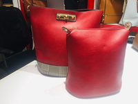2 in 1 Red Ladies Casual Bag