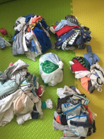 Used used clothes baby boy 1-9months in Dubai, UAE