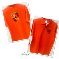 Used Polo Shirt Orange XL 💙 in Dubai, UAE