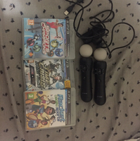 Used Ps 3 controllers navigation together 3 games in Dubai, UAE