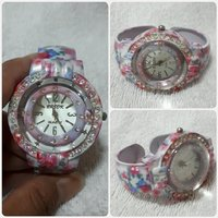 Pink bracelet watch for her brand new