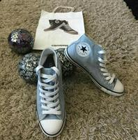 Converse Shoes Baby blue High Cut Size 37 New Only Try Once Didnt Fit Me