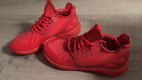 Used adidas tubular runner sneakers red  in Dubai, UAE