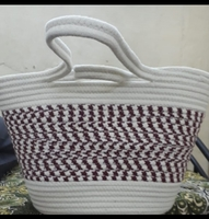 Used Brand new basket bag with ladies shirt in Dubai, UAE