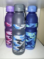 Used Camouflage Plastic Water Bottle 500ML in Dubai, UAE