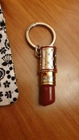 flame lipstick key chain from brighton