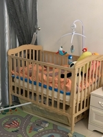 Used Baby cot, small swinging cot, stroller.  in Dubai, UAE