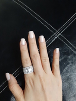 Light nude color perfect nails